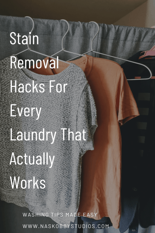Stain Removal Hacks For Every Laundry That Actually Works